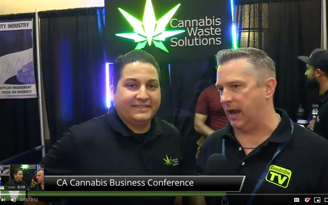 Interview with Andrew, CEO of Cannabis Waste Solutions